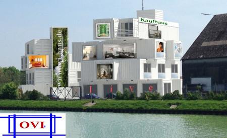 Containerbau - Hier haben Sie die Möglichkeit für wenig Geld sich viel Wohnraum zu schaffen.
